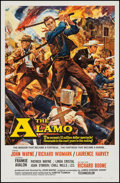 "Movie Posters:Western, The Alamo (United Artists, 1960). One Sheet (26.5"" X 41"").Western.. ..."