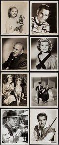 Movie Posters:Miscellaneous, Hollywood Lot (1930s-1970s). Portrait and Scene Photos (200+)(Various Sizes). Miscellaneous.. ... (Total: 200 Items)