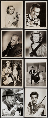 Hollywood Lot (1930s-1970s). Portrait and Scene Photos (200+) (Various Sizes). Miscellaneous. ... (Total: 200 Items)