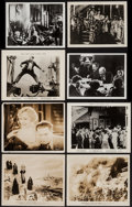 "Movie Posters:Foreign, Ivan the Terrible, Part I & Others Lot (Artkino, 1944). Photos (14) (7.25"" X 9.25"" & 8"" X 10""), Trimmed Photos and Reprint P... (Total: 21 Items)"