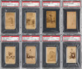 Baseball Cards:Lots, 1887 N172 Old Judge Baseball PSA Collection (8) With Billy Sunday....