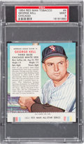 Baseball Cards:Singles (1950-1959), 1954 Red Man George Kell/Chicago #4 PSA MINT 9 - Pop One, NoneHigher!...