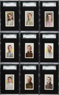 Baseball Cards:Lots, 1910-11 M116 Sporting life SGC 84 NM 7 Collection (18). ...