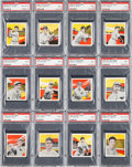 Baseball Cards:Sets, 1933 R305 Tattoo Orbit PSA Partial Set (23/60) With Hadley &Grove. ...