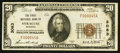 National Bank Notes:Nebraska, Syracuse, NE - $20 1929 Ty. 1 The First NB Ch. # 3083. ...