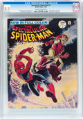 Magazines:Superhero, Spectacular Spider-Man #2 (Marvel, 1968) CGC VF+ 8.5 Off-white towhite pages....