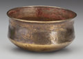 Pre-Columbian:Metal/Gold, RARE NAZCA GOLD CUP WITH EIGHT REPOUSSE BIRDS ...