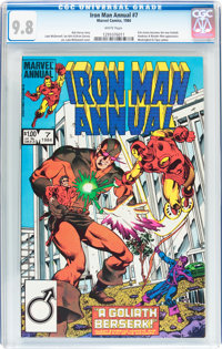 Iron Man Annual #7 (Marvel, 1984) CGC NM/MT 9.8 White pages