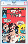 Modern Age (1980-Present):Science Fiction, Star Trek #13 (Marvel, 1981) CGC NM/MT 9.8 White pages....