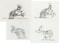 Animation Art:Production Drawing, Hawaiian Holiday Goofy Animation Rough Drawing Group (WaltDisney, 1937).... (Total: 43 Items)
