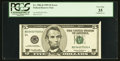 Error Notes:Attached Tabs, Fr. 1986-D $5 1999 Federal Reserve Note. PCGS Very Fine 35.. ...