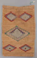 American Indian Art:Baskets, A Plateau Twined Cornhusk Bag...