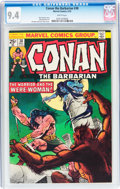 Bronze Age (1970-1979):Miscellaneous, Conan the Barbarian #38 (Marvel, 1974) CGC NM 9.4 White pages....