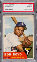 Baseball Cards:Singles (1950-1959), 1953 Topps Bob Boyd #257 PSA Mint 9 - Pop Two, None Higher. ...