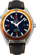 Timepieces:Wristwatch, Omega Planet Ocean Seamaster Professional Co-Axial Chronometer. ...