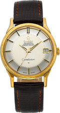 Timepieces:Wristwatch, Omega Gold Constellation Ref. 168005/6, circa 1966. ...