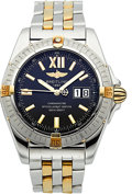 "Timepieces:Wristwatch, Breitling Ref. A49350 Two Tone ""Cockpit"" Automatic Chronometer. ..."
