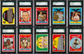 Baseball Cards:Lots, 1959 Topps Baseball SGC 92 & SGC 88 High Number Collection(35)....