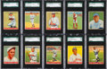 Baseball Cards:Lots, 1933 Goudey Baseball SGC 84 NM 7 Collection (10). ...
