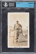 Baseball Collectibles:Photos, Circa 1918 Babe Ruth Original Snapshot Photograph....