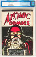 Golden Age (1938-1955):Crime, Atomic Comics #1 (Green Publishing Co., 1946) CGC FN 6.0 Cream to off-white pages....