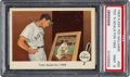 Baseball Cards:Singles (1950-1959), 1959 Fleer Ted Williams - Ted's Goals For 1959 #80 PSA Mint9 - None Higher. ...