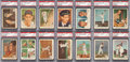 "Baseball Cards:Sets, 1959 Fleer ""Ted Williams"" PSA Mint 9 Near Set (58/80). ..."