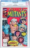 Modern Age (1980-Present):Superhero, The New Mutants #87 (Marvel, 1990) CGC NM+ 9.6 White pages....