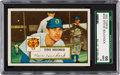 Baseball Cards:Singles (1950-1959), 1952 Topps Steve Souchock #234 SGC 96 Mint 9 - Pop One, Finest SGC Example! ...