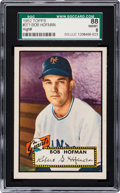 Baseball Cards:Singles (1950-1959), 1952 Topps Bob Hofman #371 SGC 88 NM/MT 8 - Pop Two, None Higher....