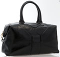 "Luxury Accessories:Accessories, Yves Saint Laurent Black Patent Leather Easy Tote Bag. Excellent Condition. 14"" Width x 9"" Height x 5"" Depth, 6"" Shoul..."