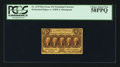 Fractional Currency:First Issue, Fr. 1279 25¢ First Issue PCGS Choice About New 58PPQ.. ...