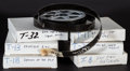"""Movie Posters:Science Fiction, The Day the Earth Stood Still & Others Lot (20th Century Fox,1951). 16 MM Film Trailer Reels (6) (3.75"""" X Diameter). Scienc...(Total: 6 Items)"""
