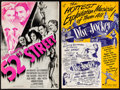 "Movie Posters:Musical, 52nd Street & Others Lot (United Artists, 1937). Cut Pressbooks (5) (Multiple Pages, 11"" X 15"", 11"" X 17"", 12"" X 18"" & 14"" X... (Total: 5 Items)"