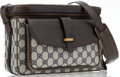 "Luxury Accessories:Accessories, Gucci Navy Monogram Canvas Camera Bag. Good Condition.12"" Width x 7"" Height x 4.5"" Depth,16"" Shoulder Drop. ..."