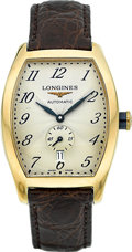 "Timepieces:Wristwatch, Longines L 2.642.6 ""Vicenza"" Large 18k Gold Automatic. ..."