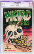 Golden Age (1938-1955):Horror, Weird Mysteries #4 (Gilmor, 1953) CGC Apparent VG 4.0 Moderate(C-3) Off-white pages....
