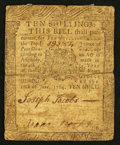 Colonial Notes:Pennsylvania, Pennsylvania June 18, 1764 10s Fine.. ...