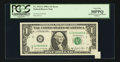 Error Notes:Attached Tabs, Fr. 1912-G $1 1981A Federal Reserve Note. PCGS Very Fine 30PPQ.....