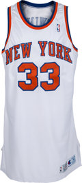 Basketball Collectibles:Uniforms, 1992-93 Patrick Ewing Game Worn New York Knicks Jersey....