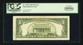 Error Notes:Foldovers, Fr. 1978-I $5 1985 Federal Reserve Note. PCGS Very Fine 25PPQ.. ...