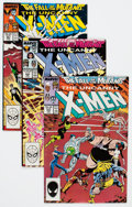 Modern Age (1980-Present):Superhero, X-Men #144-350 Near-Complete Range Box Lot (Marvel, 1981-97)Condition: Average VF+.... (Total: 2 Box Lots)