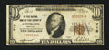 National Bank Notes:Kentucky, Covington, KY - $10 1929 Ty. 1 The First NB & TC Ch. # 718. ...