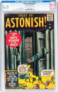 Tales to Astonish #1 (Marvel, 1959) CGC FN 6.0 Cream to off-white pages
