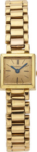 Estate Jewelry:Watches, Cartier Lady's Gold Wristwatch. ...