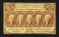 Fractional Currency:First Issue, Fr. 1281 25¢ First Issue Very Fine-Extremely Fine.. ...