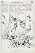 Original Comic Art:Panel Pages, Carmine Infantino and Murphy Anderson Mystery in Space #85Page 9 Original Art (DC, 1963)....