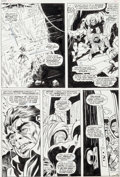 Original Comic Art:Panel Pages, Gene Colan and John Tartaglione Daredevil #32 Page 8 Mr.Hyde and Cobra Original Art (Marvel, 1967)....