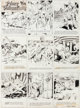 Hal Foster Prince Valiant Sunday Comic Strip #523 Original Art dated 2-16-47 (King Features Syndicate, 1947)