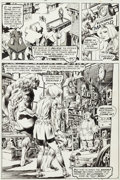 "Original Comic Art:Panel Pages, Bernie Wrightson Swamp Thing #6 ""A Clockwork Horror"" Page 6Original Art (DC, 1973)...."